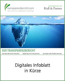 Digitales Infoblatt